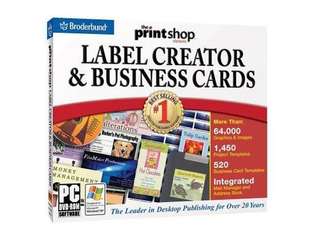 Encore Software The Print Shop Label & Business Card Creator DVD