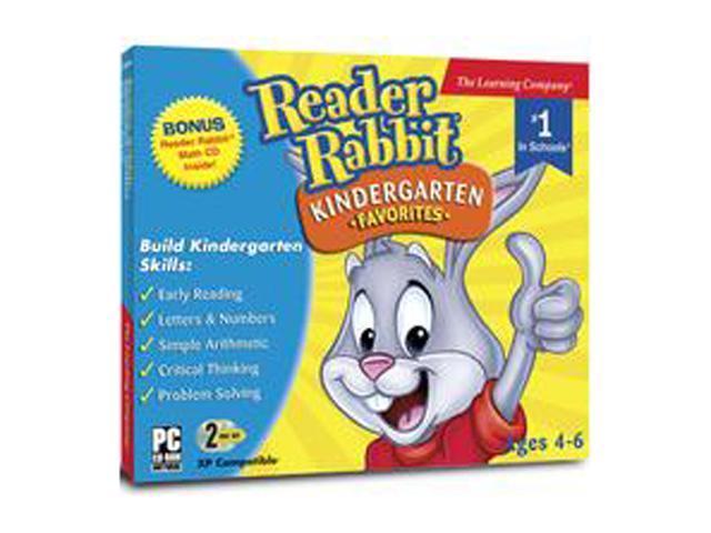 Encore Software Reader Rabbit Kindergarten Favorites