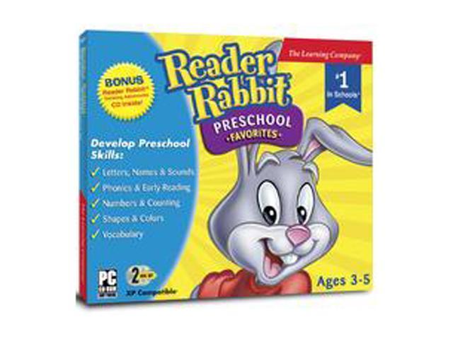 Encore Software Reader Rabbit Preschool Favorites