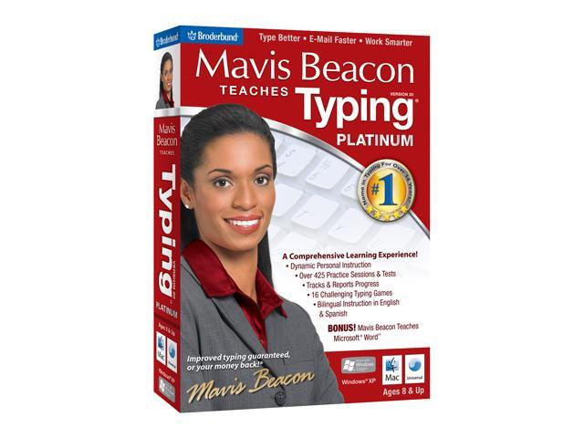 Encore Software Mavis Beacon Teaches Typing Platinum 20