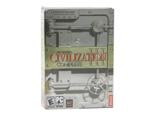Sid Meir Civilization III Complete PC Game