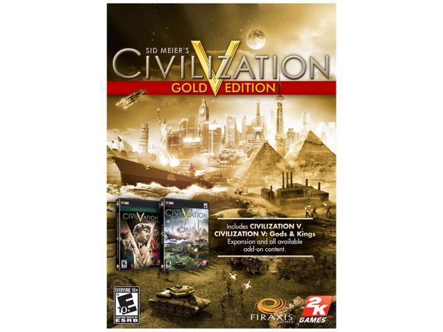 Sid Meier's Civilization V Gold [Online Game Code]