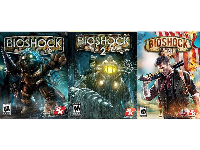Bioshock Triple Pack (1 + 2 + Infinite) [Online Game Codes]