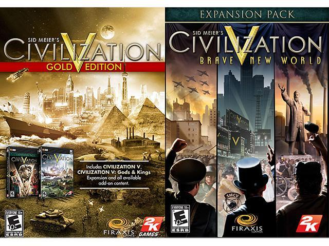 Sid Meier's Civilization V Complete (Gold + Brave New World) [Online Game Codes]
