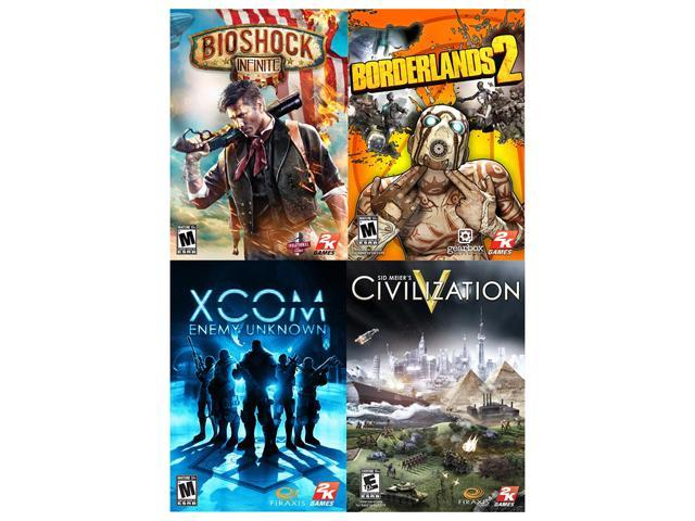 2K AAA Pack (BioShock Infinite + Borderlands 2 + Enemy Unknown + Civ V) [Online Game Code]