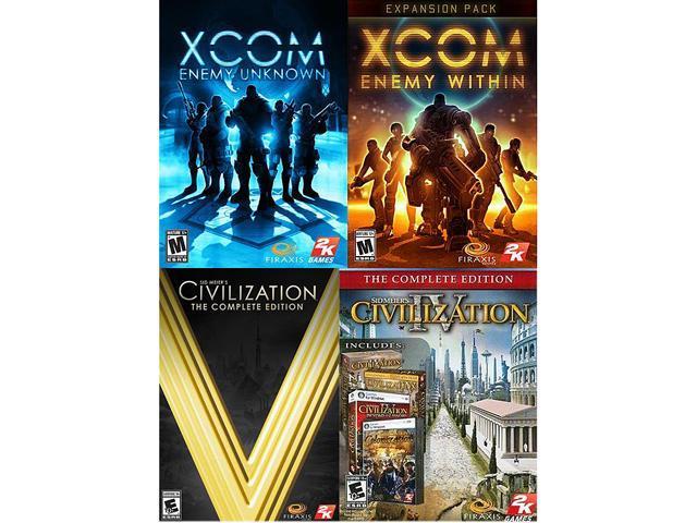 Firaxis Complete Pack (XCOM EU Complete, Civ IV Complete, Civ 5 Complete) [Online Game Codes]