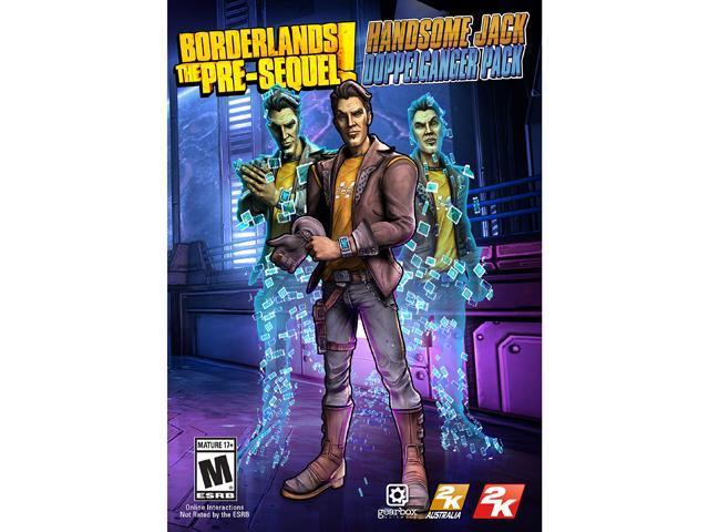 Borderlands: The Pre-Sequel The Handsome Jack Doppleganger Pack [Online Game Code]