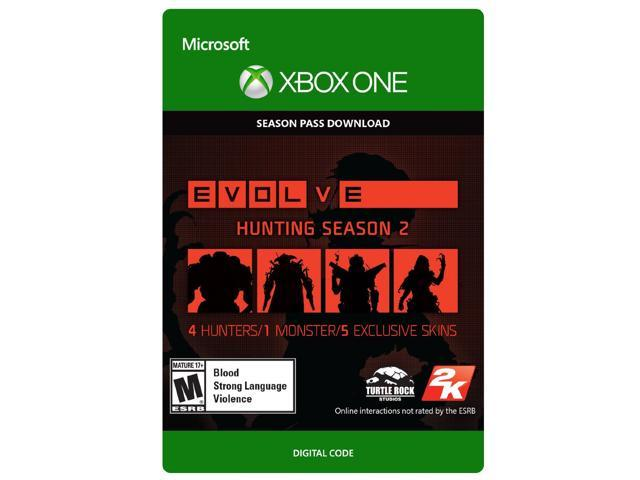 Evolve: Hunting Season 2 Season Pass Xbox One [Digital Code]