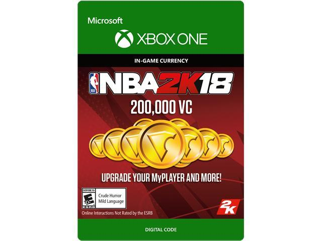 NBA 2K18: 200,000 VC Xbox One [Digital Code]