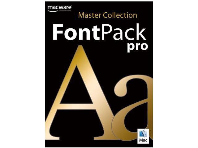SummitSoft Font Pack Pro Master Collection (Mac) - Download