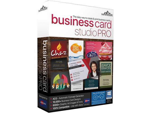 Summitsoft business card studio pro download newegg summitsoft business card studio pro download reheart Image collections