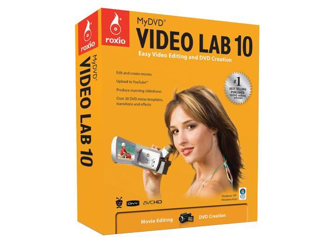Roxio MyDVD Video Lab 10 - Mini Box