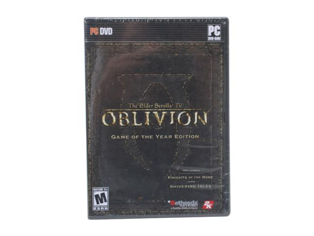 Elder Scrolls IV: Oblivion Game of the Year Edition PC Game