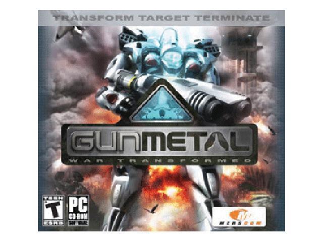 Gun Metal Jewel Case PC Game