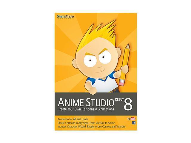 SmithMicro Anime Studio Debut 8