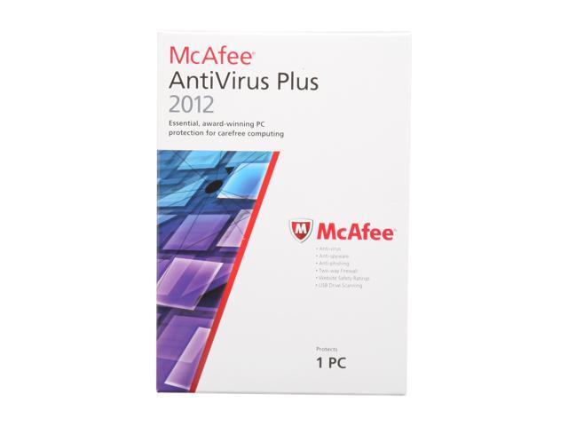 McAfee Antivirus Plus 2012 - 1 User