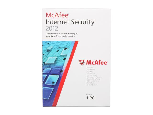 McAfee Internet Security 2012 - 1 User