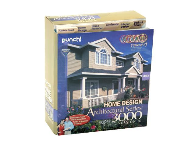 Punch software home design architectural series 3000 v10 software for Punch home design architectural series