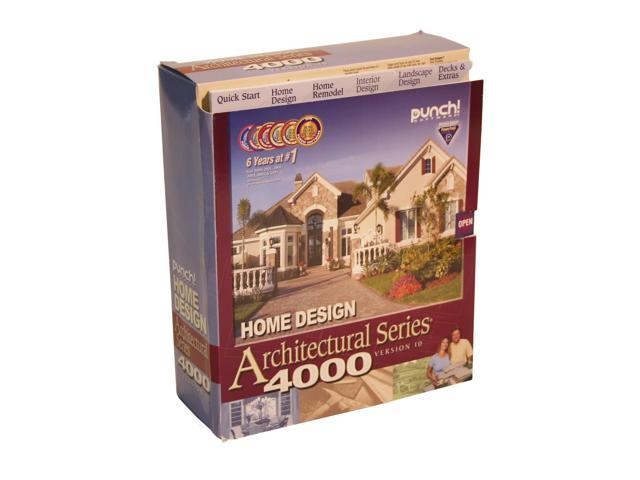 Punch Software Home Design Architectural Series 4000 V10 Software