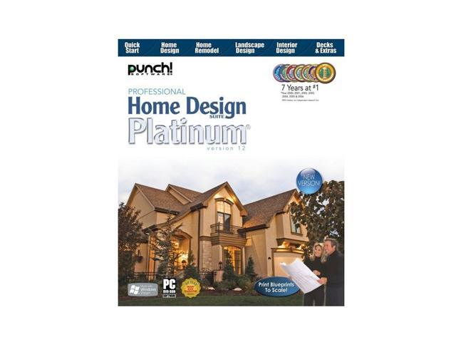 Punch! Software Professional Home Design Platinum V12