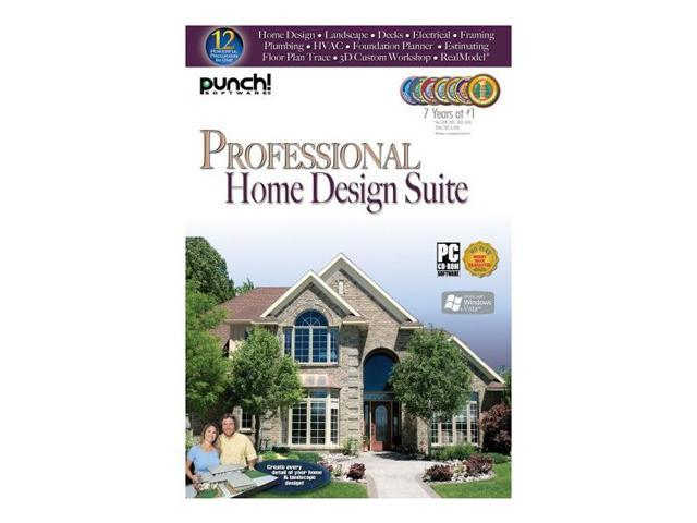 punch software professional home design suite software. Black Bedroom Furniture Sets. Home Design Ideas