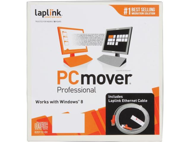 Laplink PCMover Professional - Includes Ethernet Cable