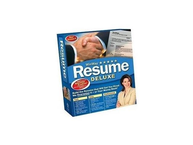 development winway resume deluxe 11 0 network 10