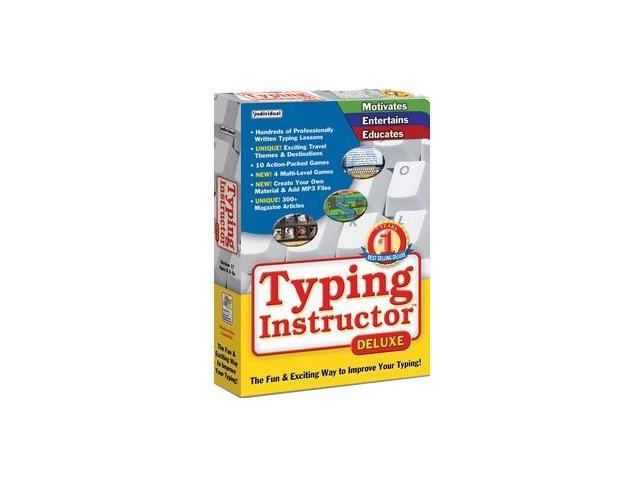 Individual Software Typing Instructor Deluxe 17