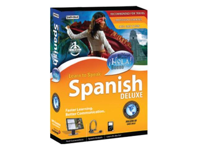 Individual Software Learn to Speak Spanish Deluxe 10