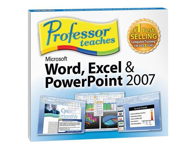 Individual Software Professor Teaches Word, Excel & PowerPoint 2007 (Jewel Case Edition)