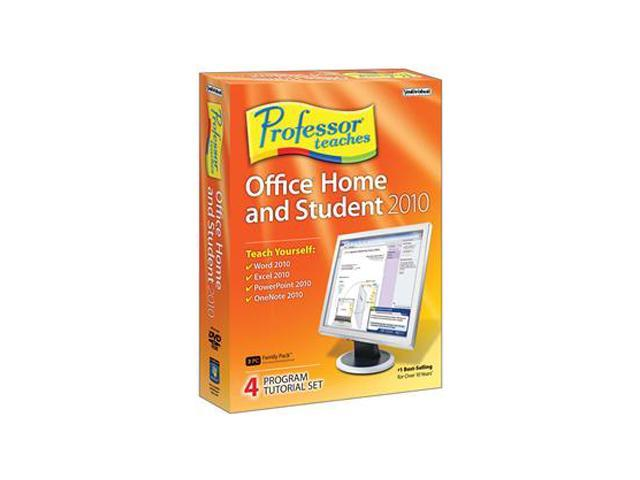 Individual Software Professor Teaches Office Home and Student 2010
