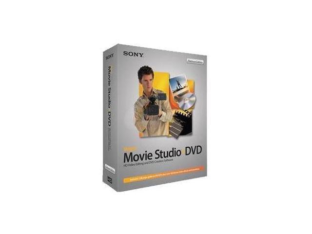 SONY Vegas Movie Studio+DVD Platinum Edition