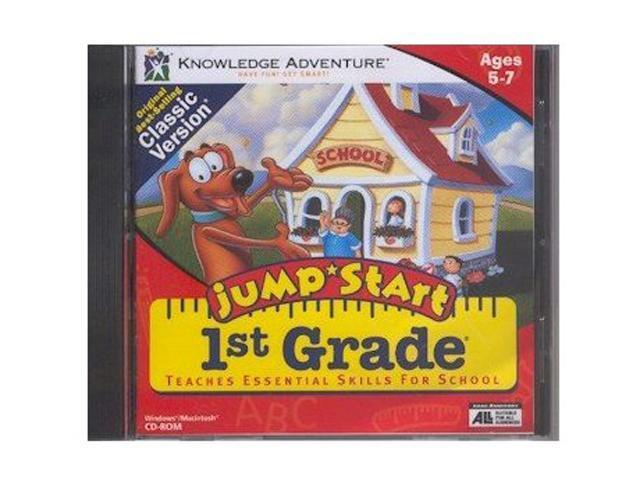 Knowledge Adventure Jumpstart 1st Grade Jewel Case Value Line