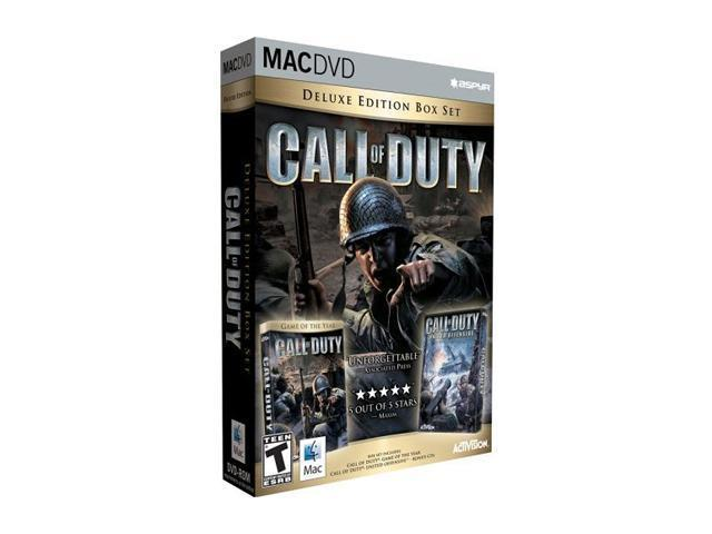 Call of Duty Deluxe Editon Mac Games