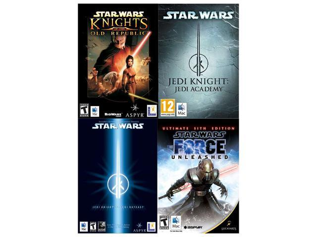 LucasArts Power Pack (Knights of the Old Republic, Jedi Knight: Jedi Academy, Jedi Knight II: Jedi Outcast, The Force Unleashed: ...