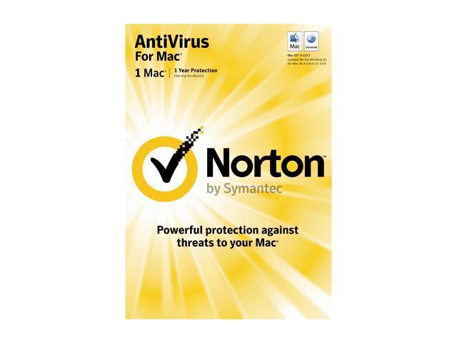 Symantec Norton Antivirus Mac 1 User