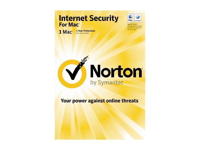 Symantec Norton Internet Security Mac 1 User