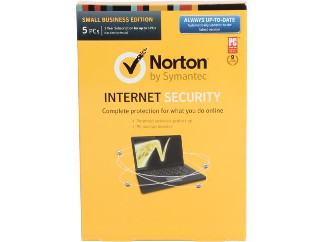 Symantec Norton Internet Security 2014 - 5 PCs