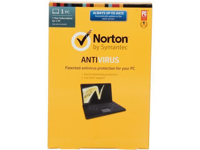 Symantec Norton Antivirus 2014 - 1 PC