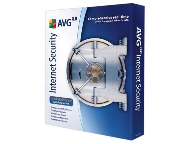 AVG Internet Security v.8 1 Year 100 licenses - OEM