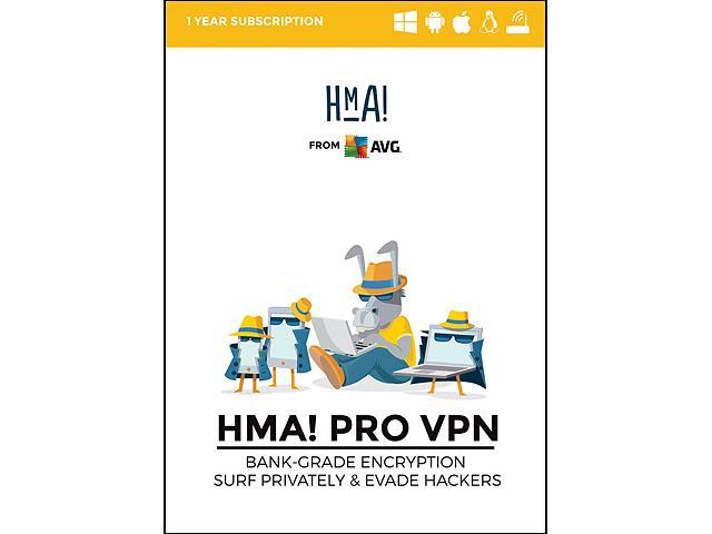 AVG HMA Pro VPN Security Software