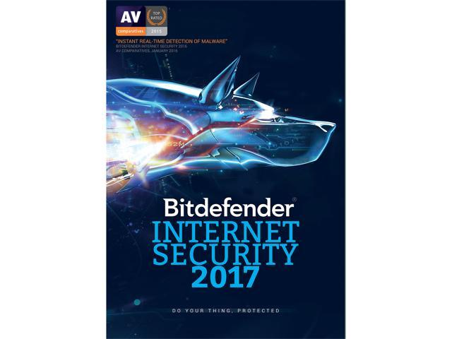Bitdefender Internet Security 2017 for 1 PC (1 year) (Download)