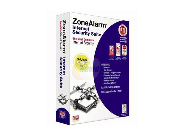 Zone Labs ZoneAlarm Internet Security Suite 2007 3 user