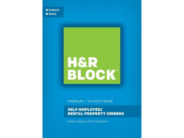 H&R BLOCK Tax Software Premium 2017 for Windows (Download)