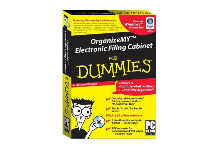 Org-Matters OrganizeMY Electronic Filing Cabinet For Dummies