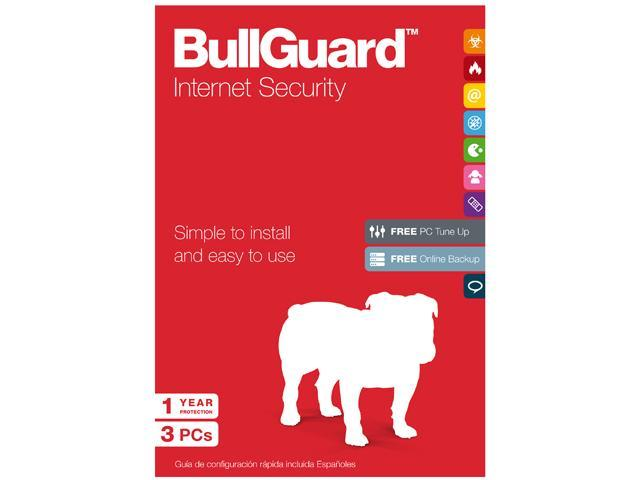 BullGuard Internet Security - 3 PCs
