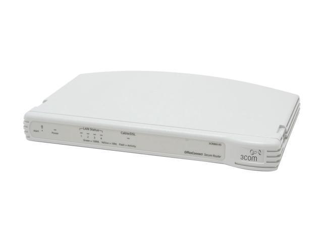 3com 3CR860-95-US 10/100Mbps Secure Router