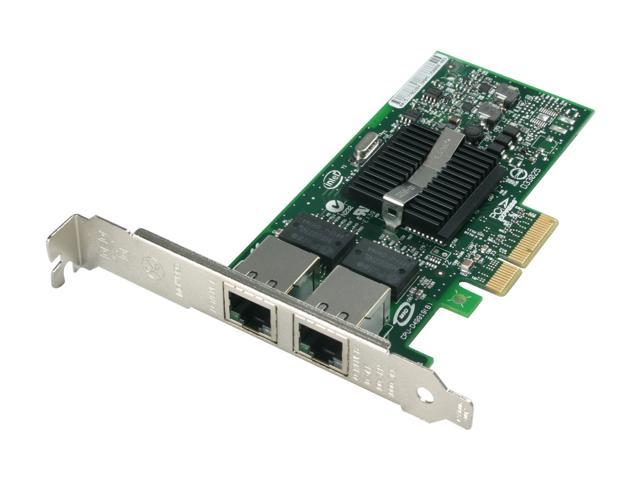Intel EXPI9402PTBLK 10/ 100/ 1000Mbps PCI-Express Two Gigabit Copper Server Connections