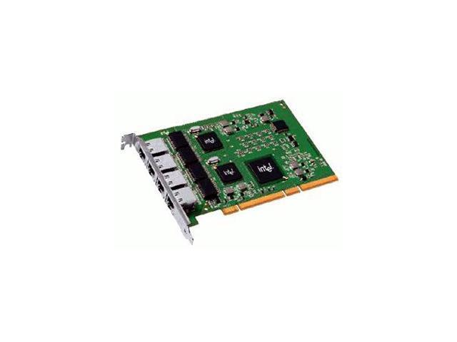 Intel PWLA8494GTBLK PCI-X PRO/1000 GT Quad Port Server Adapter - OEM