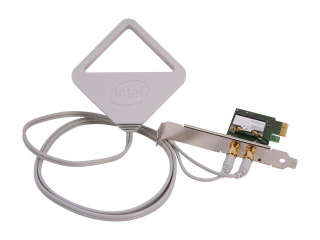 Intel Centrino Advanced-N 6205 Dual Band N600 PCIe adapter, External antenna